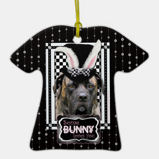 Easter - Some Bunny Loves You - Mastiff Christmas Ornaments