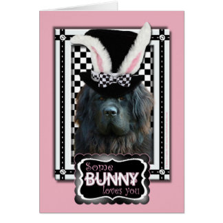 Easter - Some Bunny Loves You - Newfoundland Card