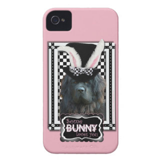 Easter - Some Bunny Loves You - Newfoundland Case-Mate iPhone 4 Case