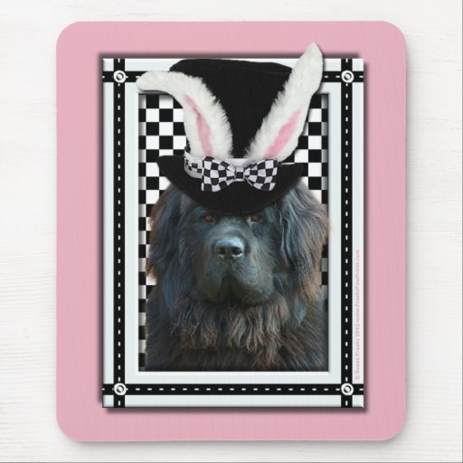 Easter - Some Bunny Loves You - Newfoundland Mouse Pad