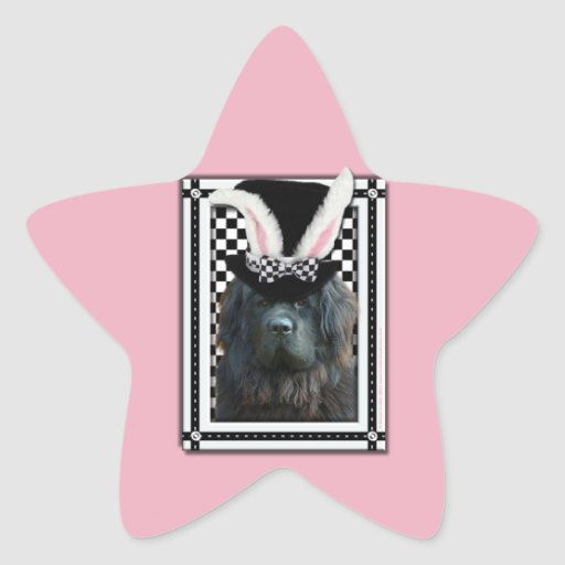 Easter - Some Bunny Loves You - Newfoundland Star Sticker