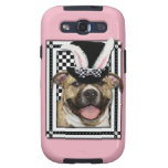 Easter - Some Bunny Loves You - Pitbull Galaxy S3 Case