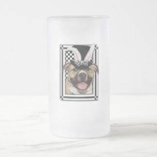 Easter - Some Bunny Loves You - Pitbull Frosted Glass Beer Mug