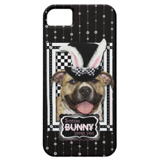 Easter - Some Bunny Loves You - Pitbull iPhone SE/5/5s Case