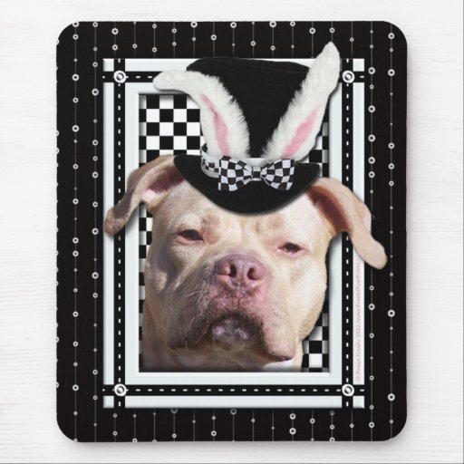 Easter - Some Bunny Loves You - Pitbull Mousepads