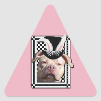 Easter - Some Bunny Loves You - Pitbull Triangle Sticker