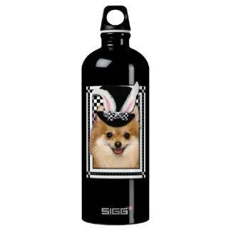 Easter - Some Bunny Loves You - Pomeranian Aluminum Water Bottle
