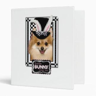 Easter - Some Bunny Loves You - Pomeranian Binder