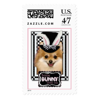 Easter - Some Bunny Loves You - Pomeranian Postage