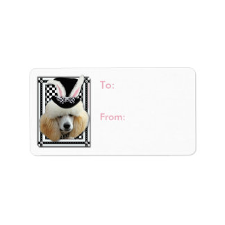 Easter - Some Bunny Loves You - Poodle - Apricot Label