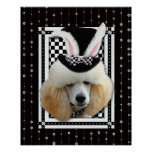 Easter - Some Bunny Loves You - Poodle - Apricot Poster