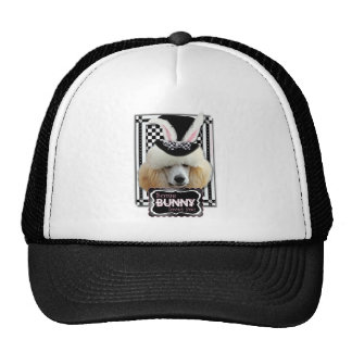 Easter - Some Bunny Loves You - Poodle - Chocolate Trucker Hat