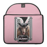 Easter - Some Bunny Loves You - Poodle - Chocolate MacBook Pro Sleeves