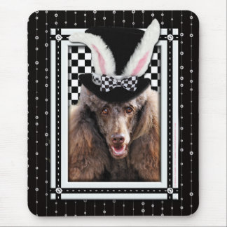 Easter - Some Bunny Loves You - Poodle - Chocolate Mouse Pad