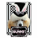 Easter - Some Bunny Loves You - Poodle - Chocolate Photo Sculptures