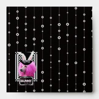 Easter - Some Bunny Loves You - Poodle - Pink Envelope