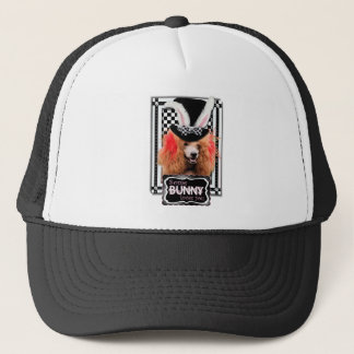 Easter - Some Bunny Loves You - Poodle - Red Trucker Hat
