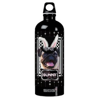Easter - Some Bunny Loves You - Pug Aluminum Water Bottle