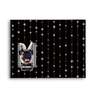 Easter - Some Bunny Loves You - Pug Envelope