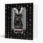 Easter - Some Bunny Loves You - Pug Ruffy Vinyl Binders