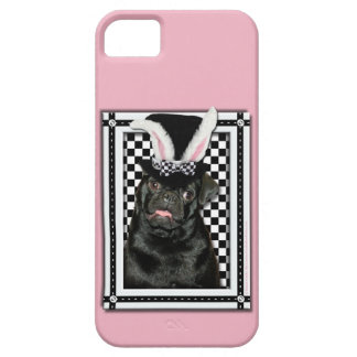 Easter - Some Bunny Loves You - Pug Ruffy iPhone SE/5/5s Case