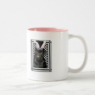 Easter - Some Bunny Loves You - Pug Ruffy Mug