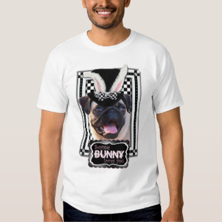 Easter - Some Bunny Loves You - Pug T-shirt