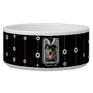 Easter - Some Bunny Loves You - Rottweiler Bowl