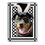 Easter - Some Bunny Loves You - Rottweiler Cut Out
