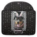 Easter - Some Bunny Loves You - Rottweiler Sleeves For MacBooks