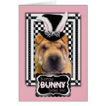 Easter - Some Bunny Loves You - Shar Pei Card