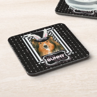Easter - Some Bunny Loves You - Sheltie Drink Coaster