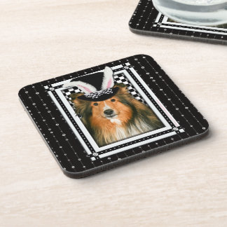 Easter - Some Bunny Loves You - Sheltie Coaster