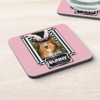 Easter - Some Bunny Loves You - Sheltie Beverage Coasters