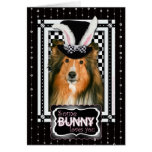 Easter - Some Bunny Loves You - Sheltie Greeting Card