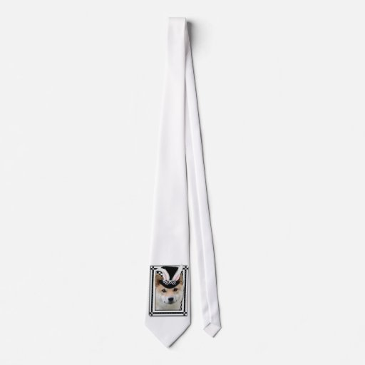 Easter - Some Bunny Loves You - Shiba Inu Neck Tie