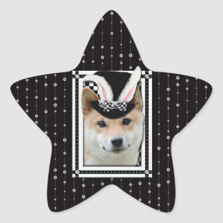 Easter - Some Bunny Loves You - Shiba Inu Stickers