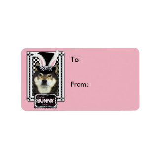 Easter - Some Bunny Loves You - Shiba Inu Yasha Label