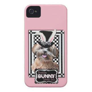Easter - Some Bunny Loves You - ShihPoo Case-Mate iPhone 4 Case