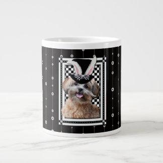 Easter - Some Bunny Loves You - ShihPoo Large Coffee Mug