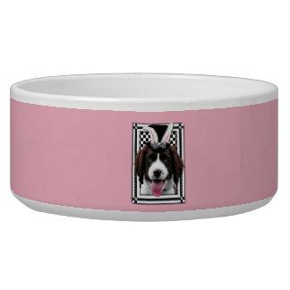 Easter - Some Bunny Loves You - Springer Spaniel Bowl