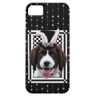 Easter - Some Bunny Loves You - Springer Spaniel iPhone SE/5/5s Case
