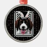 Easter - Some Bunny Loves You - Springer Spaniel Christmas Tree Ornament