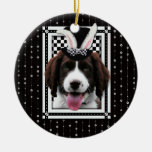 Easter - Some Bunny Loves You - Springer Spaniel Christmas Ornaments