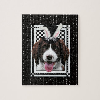 Easter - Some Bunny Loves You - Springer Spaniel Jigsaw Puzzles