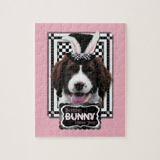 Easter - Some Bunny Loves You - Springer Spaniel Puzzles
