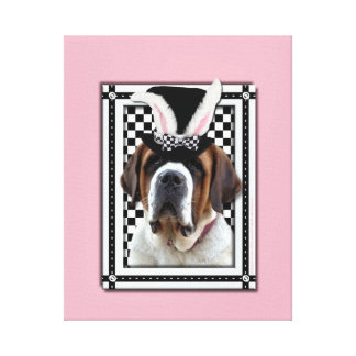 Easter - Some Bunny Loves You - St Bernard Gallery Wrapped Canvas