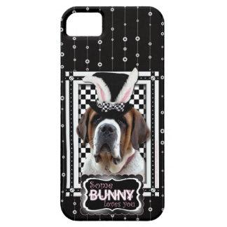 Easter - Some Bunny Loves You - St Bernard iPhone SE/5/5s Case