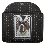 Easter - Some Bunny Loves You - St Bernard MacBook Pro Sleeve