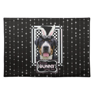 Easter - Some Bunny Loves You - Swissie Cloth Placemat